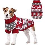 Jersey para perros y cachorros de algod/ón suave y c/álido para Navidad y corazones M, rojo Ducomi Hearts ideal como regalo