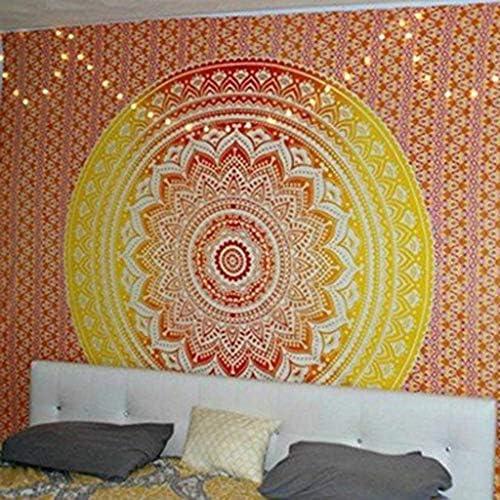 SONGDP arazzo Tapestry Mandala Series Home Printed Home Series Tapestry Tappeto da Meditazione Disponibile in 4 Dimensioni (Dimensioni   D) 4cc856