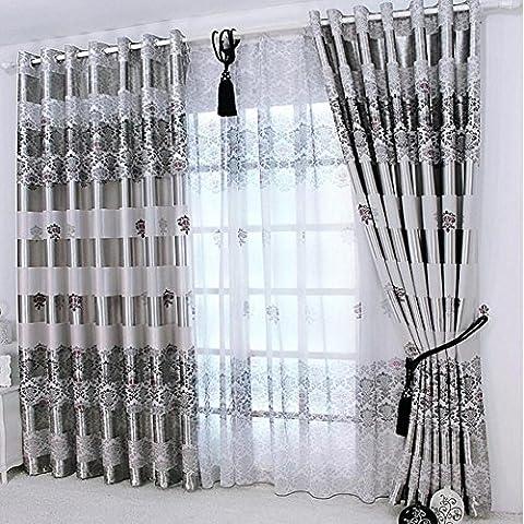 Neue Vorhänge Für Windows drapiert europäischen modernen eleganten edlen Druck Schatten Vorhang für Wohnzimmer Schlafzimmer große Größe-1PC , 1pc(200*270 cm?