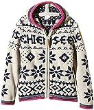 Chiemsee Mädchen Knit Jacket Korima J, Rainy Day, 152, 3090925
