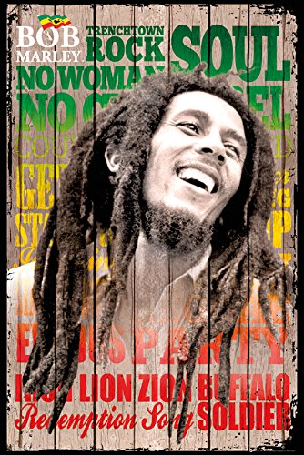 Preisvergleich Produktbild Bob Marley (Songs) - Maxi Poster - 61cm x 91.5cm