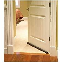 TECHNOVIBES™ PVC Sound-Proof Reduce Noise Energy Saving Weather Stripping Under Door Twin Draft Stopper (36 inch, Brown)