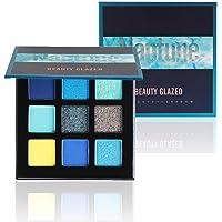 Beauty Glazed 9 Colori Ombretti Palette,Professionale Ombretto Tavolozza Naturale ombretti duraturi e opachi Pearlescent…
