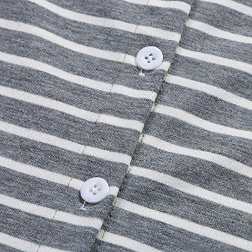 AmazingDays Femme Chemisiers T-Shirts Tops Sweats Blouses Printemps à Manches Longues Bouton Impression Dos Floral Tops Blouse T Shirt white