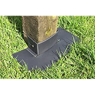 Proops 5x Post-Tector Fence Post Saver Protector Guard Shields, Grass & Weed Control Maintenance, Fits 3