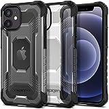 Spigen Nitro Force designed for iPhone 12 Mini case cover - Matte Black