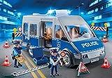 PLAYMOBIL 9236 - Polizeibus mit Straßensperre -