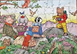 Vintage 1970 Rupert The Bear And Friends 80 Piece Jigsaw Puzzle Complete In Box