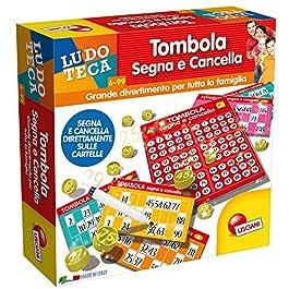Lisciani Giochi 56996 – Ludoteca Tombola Segna E Cancella, Multicolore, 6 anni+