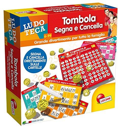 Lisciani Giochi 56996 - Ludoteca Tombola Segna E Cancella 48 Cart