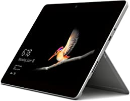 Microsoft Surface GO 10-Inch Tablet-PC - (Silver) (Intel Pentium 4415Y Gold Processor, 8GB RAM, 128GB SSD, 4GB HD 615 Graphics, Windows 10 in S Mode)
