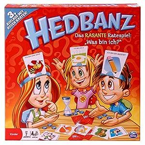 Hedbanz - Juego de mesa (Spin Master Games) versión surtido