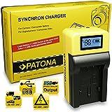 LCD Cargador de Batería VW-VBK180 para Panasonic HC-V10 | HC-V100 | HC-V500 | HC-V700 | HC-V707 | HDC-HS60 | HDC-HS80 | HDC-SD40 | HDC-SD60 | HDC-SD66 | HDC-SD80 | HDC-SD90 | HDC-SD99 | HDC-SDX1 | HDC