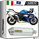 Arrow Auspuff Hom race-tech Aluminium Suzuki GSX-R 100020151520161671791AO