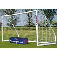 New 12x6ft Samba Match Goal Portable w/ Locking System