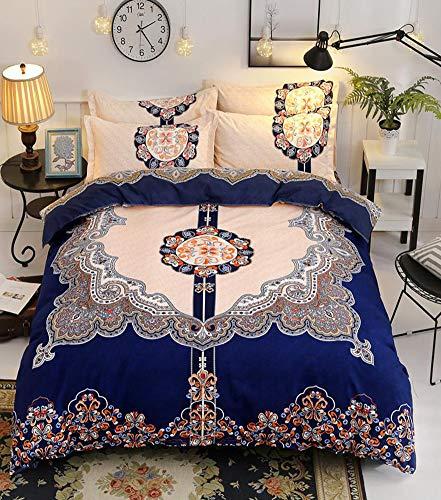 38843cf708 Zoom IMG-3 qyzlt set biancheria da letto. I prodotti includono: copriletto  x1 ...