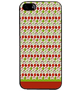 PrintDhaba Pattern D-1893 Back Case Cover for APPLE IPHONE 4 (Multi-Coloured)