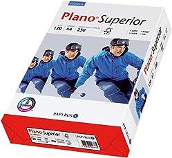 Papyrus 88026786 Drucker-/Kopierpapier premium PlanoSuperior 120 g/m², A4 250 Blatt, hochweiß, matt