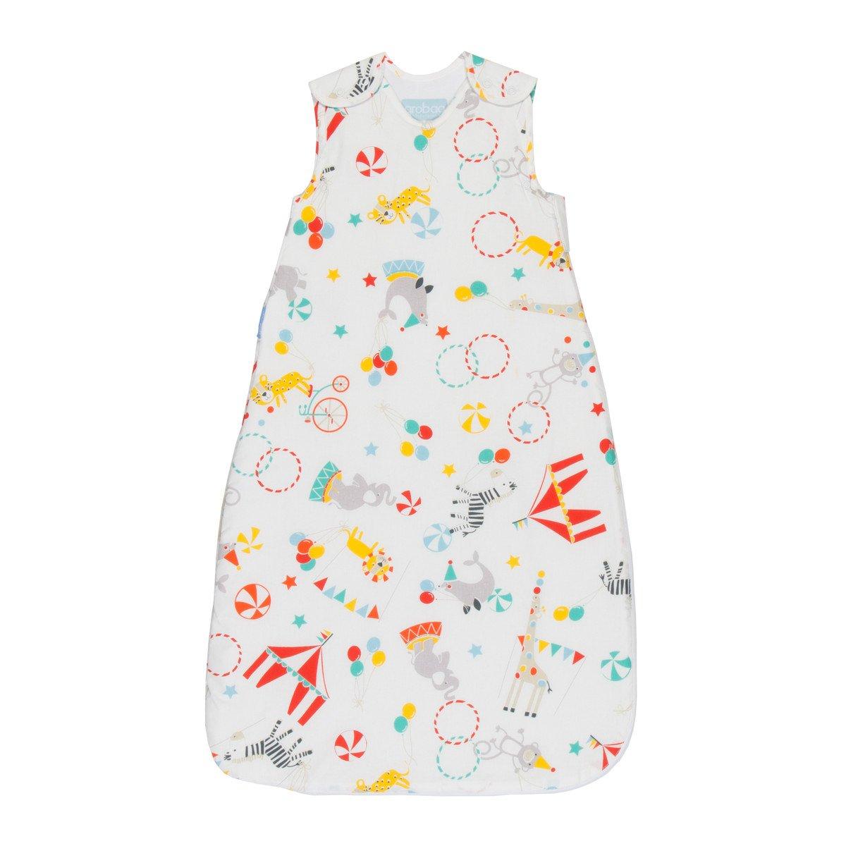 Grobag Pack de 2 Sacos para dormir bebé 2.5 tog, Multicolor,