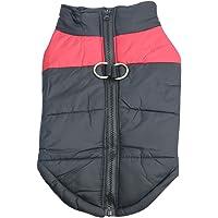 Idepet Haustier Hund Warm Mantel Jacke Wasserdichte Kleidung Kleine mittlere große Haustier Hund Katze Bekleidung…