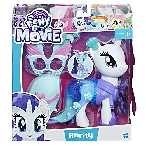 Hasbro C1822ES00 My Little Pony Modus Rarity Puppe (My Little Pony Maske)
