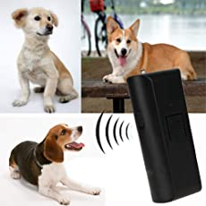AST Works Anti-Bark Ultrasonic Aggressive Dog Pet Repeller Barking Stopper Deterrent Train