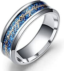 Via Mazzini Lord Of The Rings Stainless Steel Ring For Boys And Men (Ring0450)