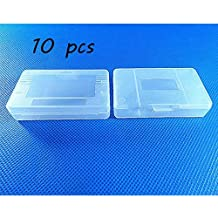 Laixing Buena Calidad 10pcs Clear White Game Cartridge Case para Game Boy GBA SP
