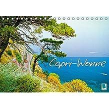 Capri-Wonne (Tischkalender 2018 DIN A5 quer): Die Insel Capri: Sommer, Sonne, Meer (Monatskalender, 14 Seiten ) (CALVENDO Orte) [Kalender] [Apr 01, 2017] CALVENDO, k.A.