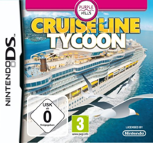 Cruise Line Tycoon - [Nintendo DS] (Lines Cruise Top)
