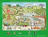 Wimmel-Rahmenpuzzle Sommer