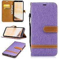 Cozy Hut Samsung S8 Plus Hülle,Galaxy S8 Plus Hülle Case, Cowboy Muster PU Leder Hülle Ledercase Ledertasche Flip case TPU Silikon Innere Handyhülle Folio Handytasche Wallet Lederhülle Standfunktio