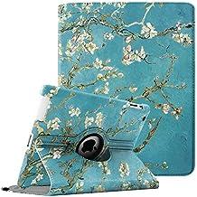 Fintie Giratoria Funda para iPad 4/3/2 - Rotación de 360 Grados Case Cover Carcasa con Función de Auto-Reposo/Activación para Apple iPad 4/iPad 3/iPad 2, Blossom