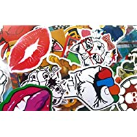 220 pezzi Adesivi in vinile, Trendy da paraurti, per portatili Apple Macbook, Skateboard e Snowboard, bici, mobili, Trolley, Vintage, Pop Art, Graffiti Super Cool (220) - Bmw Coda Lampadina