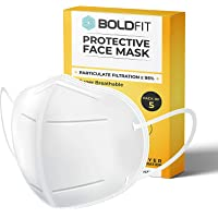 Boldfit AS9500 mask for face, Anti Pollution, protective. Third Party Tested by manufacturer at SGS & Ministry of…