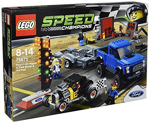 LEGO Speed Champions 75875 - Ford F-150 Raptor und Ford Model A Hot Rod (Ford F150 Raptor)