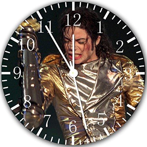Michael Jackson Wanduhr 25,4cm Will Be Nice Gift und Raum Wand Decor Z121