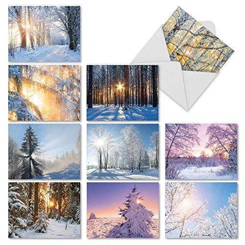 5. The Best Card Company - Postales de invierno