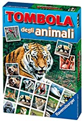 Idea Regalo - Ravensburger 21976 Tombola degli animali