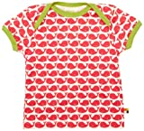 Loud + Proud Unisex - Baby T-Shirts Tierdruck 204, Pink (Rosenrot ), 110/116