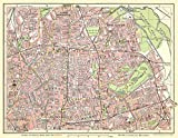 1000 Piece Jigsaw Puzzle - Map of Bethnal Green and Hackney 1908