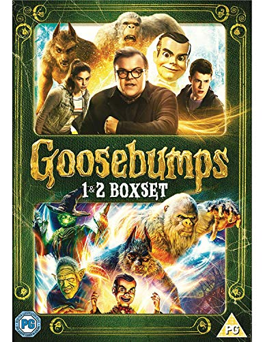 Goosebumps (2015) / Goosebumps 2: Haunted Halloween - Set [2 DVDs] [UK Import]