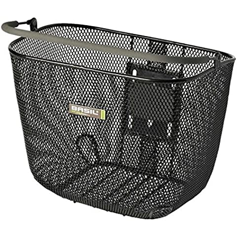 Basil BaSimply II Front Mesh Basket w/ Soft Grip Handle Bracket NOT Included ??20.69
