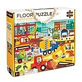 Petit Collage Floor Puzzle | Baustelle