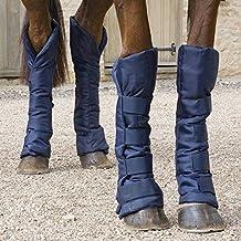 Gera 9095protectora pata delantera occidental caballo botas de trabajo tamaño I/S negro 1par gMkRd2cBV