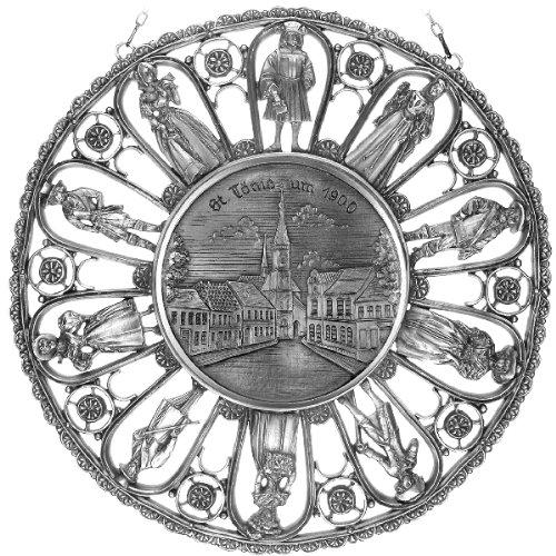 Städtemedaille St. Tönis um 1900 (Tönisvorst) in (Kostüme 1900 Um)
