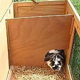 Kaninchenstall Buddy, Kerbl, einstöckig, Nagerstall, 116 x 52 x 82 cm - 2