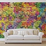 Steine Bunt - Forwall - Fototapete - Tapete - Fotomural - Mural Wandbild - (3469WM) - XXXL - 416cm x 254cm - VLIES (EasyInstall) - 4 Pieces