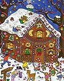 Gingerbread Fun Advent Calendar (Countdown to Christmas Calendar)