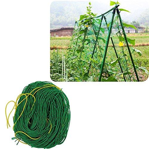UniEco Pflanzennetz Gartennetz Stütznetz Nylon-Gitter Netz Pflanze Unterstützung für...